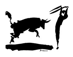 Bullfight iii, 1960 by Pablo Picasso Pablo Picasso paintings, sculptures, plastic arts, visual arts, fine art