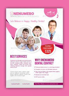 Dentist Flyer Template | Design Ideas | Pinterest | Flyers, Flyer ...