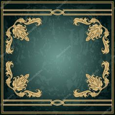 Descargar - Marco del ornamento añejo — Ilustración de stock #53409699
