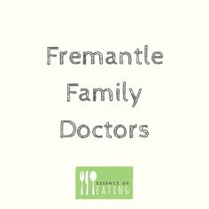 FREMANTLE FAMILY DOCTORS // I've been working with Fremantle Family Doctors since September 2015. They are a practice who pride themselves on providing a quality service with a strong patient focus.  I love working there because the staff doctors and nurses that I work with are friendly welcoming and supportive to their patients and colleagues every day.  Other services that they offer include chronic disease management plans shared ante natal care women's and children's health mens health…