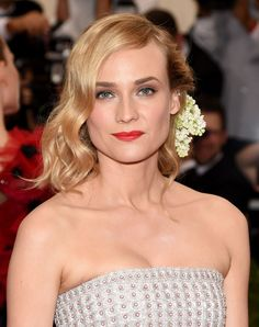 "Diane Kruger's ""Put a Flower On It"" Mentality  - MarieClaire.com"
