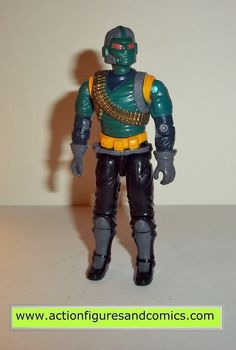 Hasbro toys G I JOE vintage gijoe action figures for sale to buy 1990 COBRA RANGE VIPER condition: noverall excellent - nice paint, nice joints, no broken or damaged parts. very minimal shelf wear at
