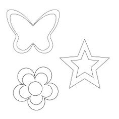 Dekoration till diadem, kuvertv�ska och dylikt. Coloring Pages, Butterfly, Symbols, Logos, Amp, Clutches, Templates, Fashion Styles, Free Pattern