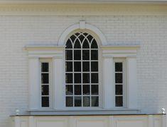 Lindsay Daniel Architecture | Palladian Windows Palladian Window, Brick Columns, Georgian Townhouse, Art Deco, House Front Design, Through The Window, Architectural Features, Facade House, Window Design