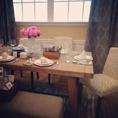 How Cute Is This @Target Threshold Dining Room?! We