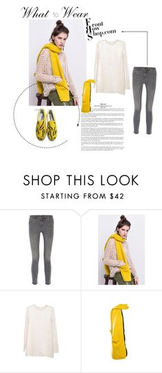 """""""frontrowshop"""" by bellamonica ❤ liked on Polyvore featuring Mode, MiH Jeans, Front Row Shop und HVBAO"""
