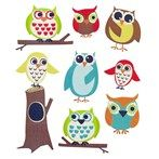 Sticko by EK Success Owl & Flower Puffy Stickers | Shop Hobby Lobby