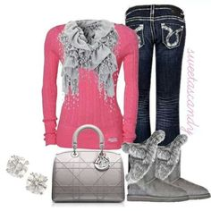 Pink for winter