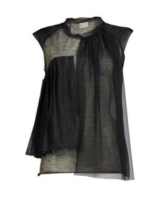 This is like some sort of breast feeding coture! Isabel Toledo, Breast Feeding, Pattern Fabric, Color Shapes, Layered Tops, Women's Fashion, Fashion Outfits, Shirt Outfit, All Black