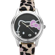 Hello Kitty watch.