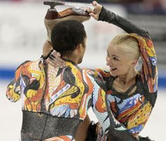 Four-time world champions Aliona Savchenko & Szolkowy actually go into next week's competition as the underdogs.