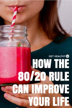 To use the 80/20 rule to manage your time, you focus on the 20 percent of the things you do that really move the dial for you or your business. In other words, your highest valued activities.  Here's the kicker! When it comes to your health, you gotta flip the 80/20 rule and focus on that 80 percent. You know you can achieve a healthy lifestyle when the majority of your choices are healthy. See? It's not rocket science, but it can really change how you think. 80/20 is a universal rule and it…