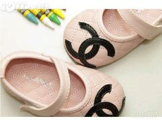 {fashion} lovely pink chanel shoes