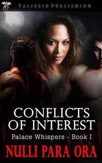 A woman afraid of another broken heart, a vampire afraid of losing the man he loves, and a lion shifter who wants them both. How can love succeed with so many conflicts of interest?