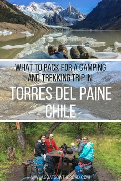 What To Pack For a Camping and Trekking Trip in Torres del Paine. Travel in South America.