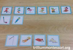 "Winter Sports ""Go-Togethers"" (from Trillium Montessori) Preschool Printables, Preschool Activities, Winter Activities, Preschool Winter, Winter Theme, Winter Sports, Craft Work, Montessori, Curriculum"