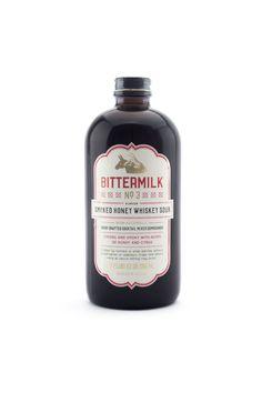 Smoked Honey Whiskey Sour Cocktail Mixer – Bittermilk No. 3 from MANREADY MERCANTILE