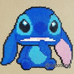 Stitch hama beads by octotong