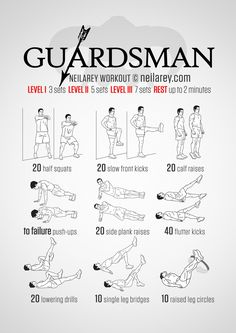 No-equipment Skyrim inspired workout for knee recovery.