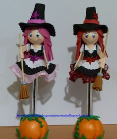 FOFUCHAS. Manualidades y Creaciones Maite: Fofuchas para Halloween