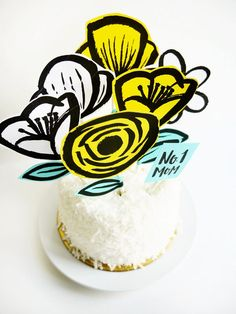 Perfect printables. The top image here is a fabulous set of Cake Toppers from Oh Happy Day. I absolutely love the illustration and doodle style of these printable flower cake toppers. What do you think of this bold style of illustration? Would your mum like it? On the day, would you like to bake a cake for your mum or spend a weekend baking with her?  http://www.hearthandmade.co.uk/20-fabulous-free-printables/?utm_campaign=coschedule&utm_source=pinterest&utm_medium=Heart...