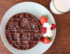 Death Star Waffle Maker Brownies