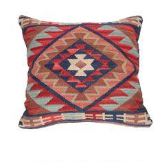 Loominary Khamseh Kilim x Pillow Kilim Pillows, Kilim Rugs, Throw Pillows, Cushions, Fantasy House, Textiles, Joss And Main, Crochet Motif, Decorative Pillows