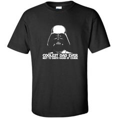 Amazon.com: Darth Vader Coolest Dad Funny Fathers Day Star Wars MENS T-SHIRT: Clothing