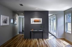 Accent Wall: Sherwin Williams Gauntlet Gray
