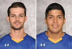 The accolades for NYIT's soccer programs rolled in this week with two members of the men's soccer team were honored by the East Coast Conference. College Soccer, Polo Shirt, Polo Ralph Lauren, Mens Tops, Polos, Polo Shirts, Polo