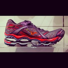 Mizuno Prophecy.. running shoes ...I'm not really a runner, but this is the only shoe that when I do decide to try and run, doesn't leave me with shinsplints