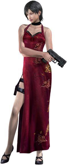 Ada Wong (Resident Evil 4)  #residentevil I love that dress.