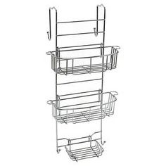 zenna home over the door adjustable shower caddy