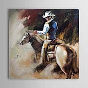 Hand geschilderd olieverfschilderij People 13... – EUR € 74.24