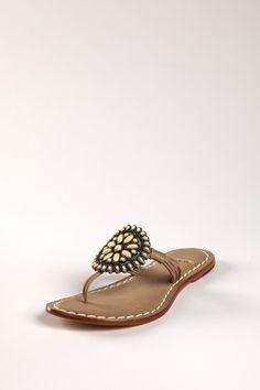 Shoe Bazaar - Bernardo Mosaic Flat Sandal