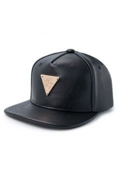 0ac9c95ce5012 HATer Snapback in full grain leather