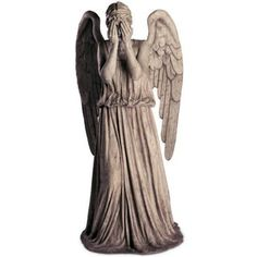 Here's a weeping angel. I don't know, why. Random angel pin.