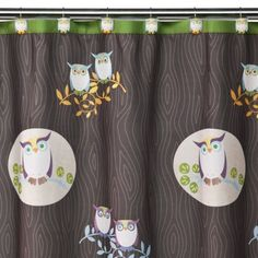 This is what I am redoing my bathroom in! I love owls! So cute!!