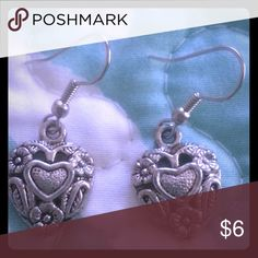 FLASH SALE!!! HEART earrings - BOGO deal! Beautiful nickel free earrings. If you buy today, you receive the second pair for free. Share it with your mom or best friend! Jewelry Earrings