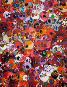 Takashi Murakami Art | Art Splash: Takashi Murakami - Homage to Yves Klein - Galerie Emmanuel ...