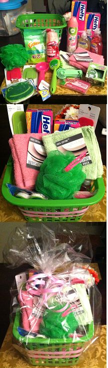 High school college graduation gift basket ideas for for Gifts for first apartment