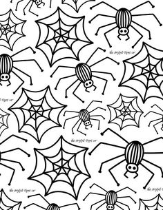 Fall Coloring Pages / Halloween Coloring Pages / Coloring Printable /  Printable Coloring / Kids Colo