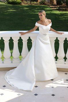 Moderne uitstraling en vernieuwende trends, dat vind je in de bruidscollectie van Ladybird.