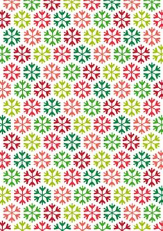 Rainbow Snowflakes by PaperCrafts Inspirations