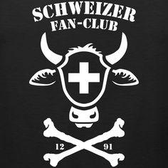 FUSSBALL SCHWEIZER FAN-CLUB, HOPP SCHWIIZ, T-SHIRT