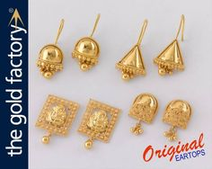 c192c4dd7 71 Best Beautiful gold earrings @ factory prices images in 2019 ...