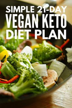 Vegan Keto Diet Plan, Keto Vegan, Vegan Keto Recipes, Ketogenic Diet Meal Plan, Ketosis Diet, Diet Plan Menu, Vegetarian Keto, Healthy Recipes, Keto Meal Plan