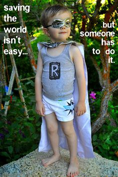 Super Hero Capes for my super hero kid!