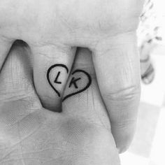 Small Matching Tattoos For Couples - Relationship Tattoo Designs That Mean Love . - Small Matching Tattoos For Couples – Relationship Tattoo Designs That Mean Love – Best Tattoo I - Love Symbol Tattoos, Couple Tattoos Love, Small Girl Tattoos, Tattoos For Women, Tattoos For Guys, Small Tattoos For Couples, Couple Tattoo Ideas, Married Couple Tattoos, Symbols Tattoos