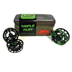 Cheeky Boost Triple Play Reel and Spool Bundle *Includes Boost reel, 2 spare spools and reel case!